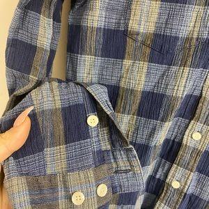 Patagonia Shirts - NWOT Patagonia Blue Flannel Shirt - Men's